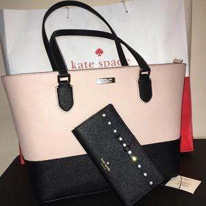 NWT Kate spade purse & jeweled wallet